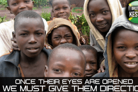 ONCE THEIR EYES ARE OPENED WE MUST GIVE THEM DIRECTION!