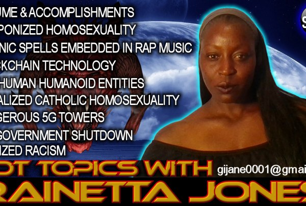 HOT TOPICS WITH RAINETTA JONES! – The LanceScurv Show