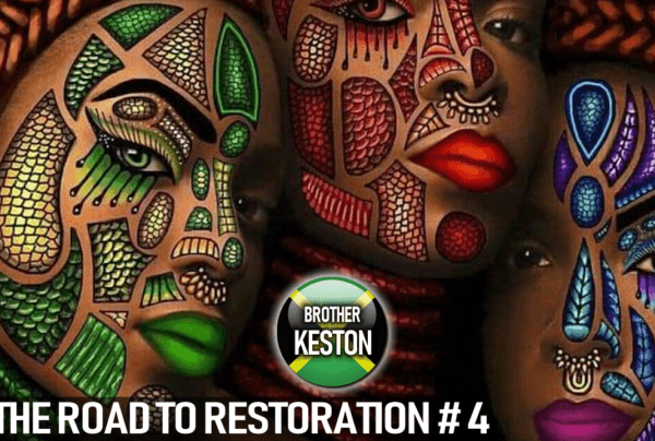THE ROAD TO RESTORATION: DECEMBER 2018 – BROTHER KESTON