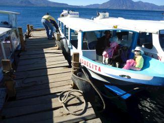 Paseos en lancha por le Lago de Atitlán