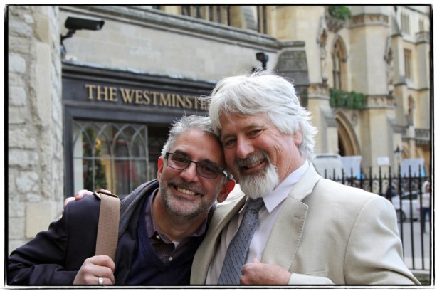 Andrew and Peter - brothers at heart - Image copyright Lancia E. Smith - www.lanciaesmith.com