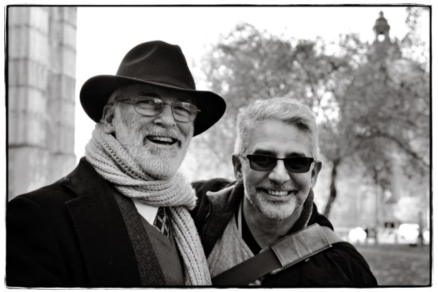 Jerry Root and Andrew Lazo - Image copyright Lancia E. Smith - www.lanciaesmith.com