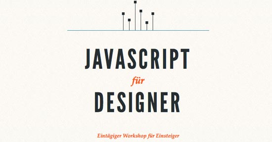 JavaScript for Designers