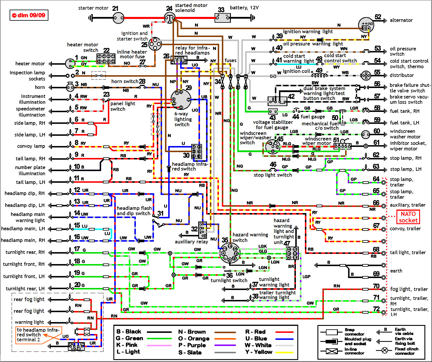 Rtd Led Headlight Wiring Diagram Yamaha Wr426 Exelent 3 Wire Color Code Picture Collection Magnificent