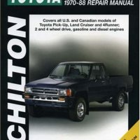 Toyota Pick-ups, Land Cruiser, and 4-Runner, 1970-88 (Chilton Total Car Care Series Manuals)