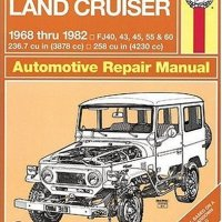 Toyota Land Cruiser FJ40, 43,45, 55 & 60,  '68'82 (Haynes Repair Manuals)