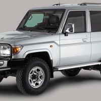 Armoured Toyota Land Cruiser
