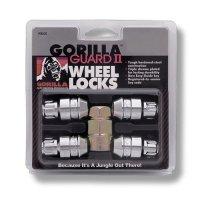 Gorilla Automotive 61641N Chrome Acorn Gorilla Guard II Wheel Locks - Set of 4 (14mm x 1.50 Thread Size)