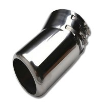 Exhaust Muffler End Tip Pipe Steel For Toyota Land Cruiser LC200 2008-2016