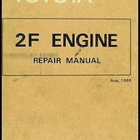 1982-1983 Toyota Land Cruiser Engine Repair Shop Manual