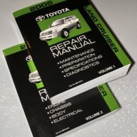 2005 Toyota Land Cruiser Repair Manuals (UZJ100 Series, 2 Volume Set)