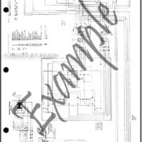 1982 Toyota Land Cruiser BJ42 Electrical Wiring Diagram Original 2 door Diesel Canada