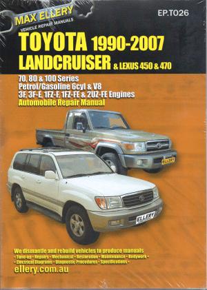 Toyota Landcruiser 1990  2007 Petrol 70 80 100 series
