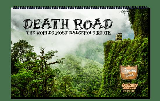 Landcruising Adventure shop - Death Road Calendar (Legendary Road serires ©photocoen)