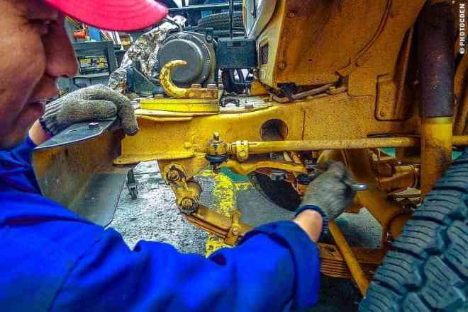 Problem solving – Visiting Fire Wheels in Lima, Peru (©photocoen)