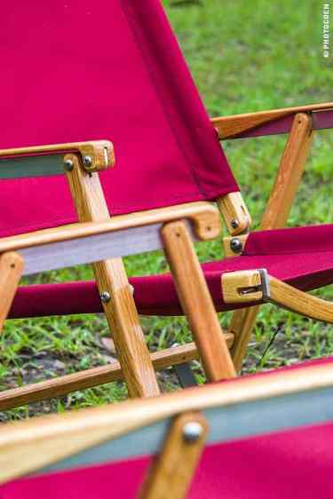 Arguably the best camping chairs on the planet were donated byKermit Chair.