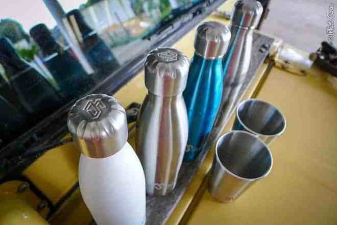 New Made Sustained water bottles. [©photocoen]
