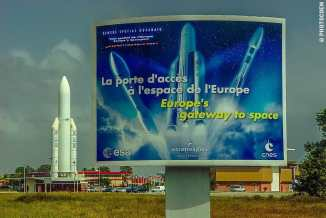 Rocket Launch in French Guiana (©photocoen)