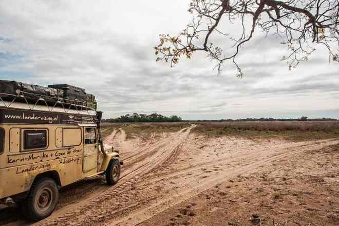 Driving in the Pantanal, Brazil (©photocoen)