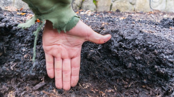 Mulch over six inches deep - Tips for Getting Work Done