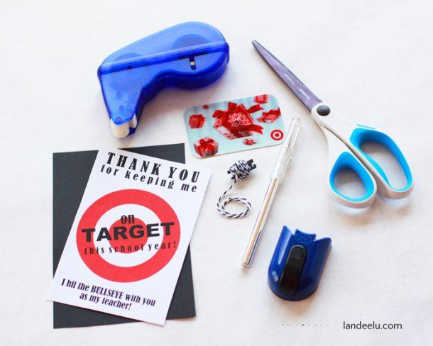 graphic about Printable Target Gift Card named Instructor Appreciation Present Concept: Emphasis Reward Card Holder