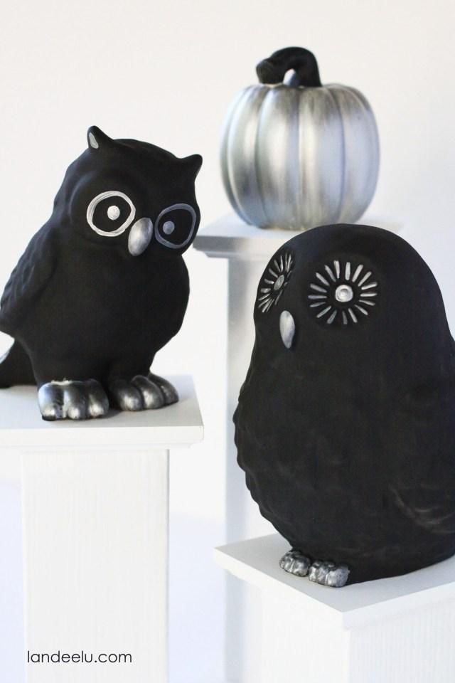 Halloween Owls 2