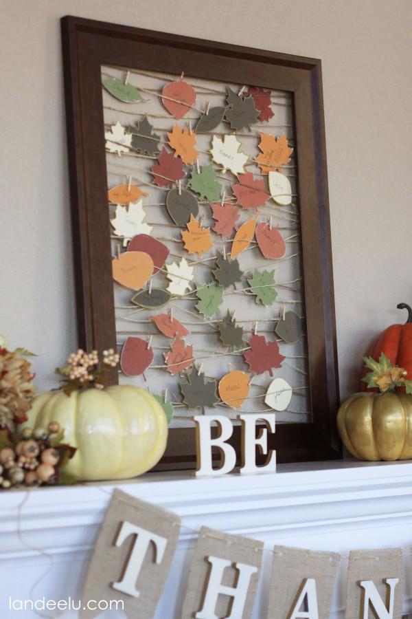 Gratitude Picture Frame