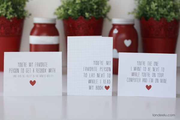 Printable Funny Valentine's Day Cards