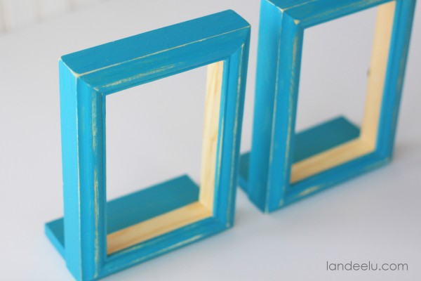 DIY Picture Frame Bookends 2