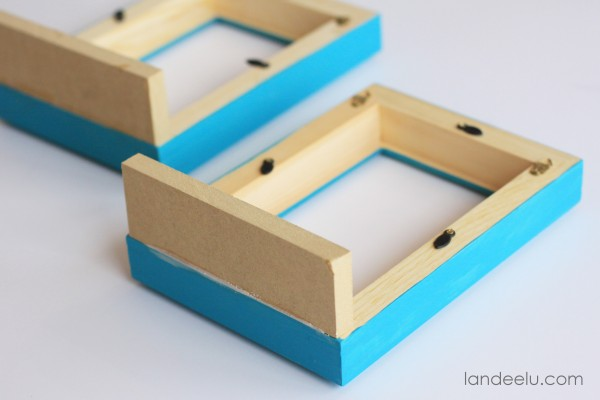 DIY Picture Frame Bookends 3
