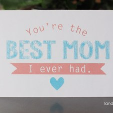 Free Mother's Day Printables Your Mom Will LOVE!