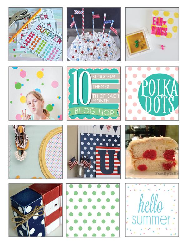 Polka Dots Theme 10 for 10 Roundup