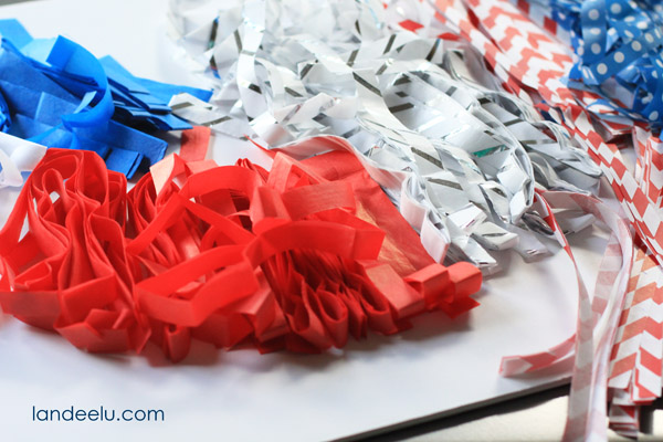 Tissue Tassel Garland-tutorial