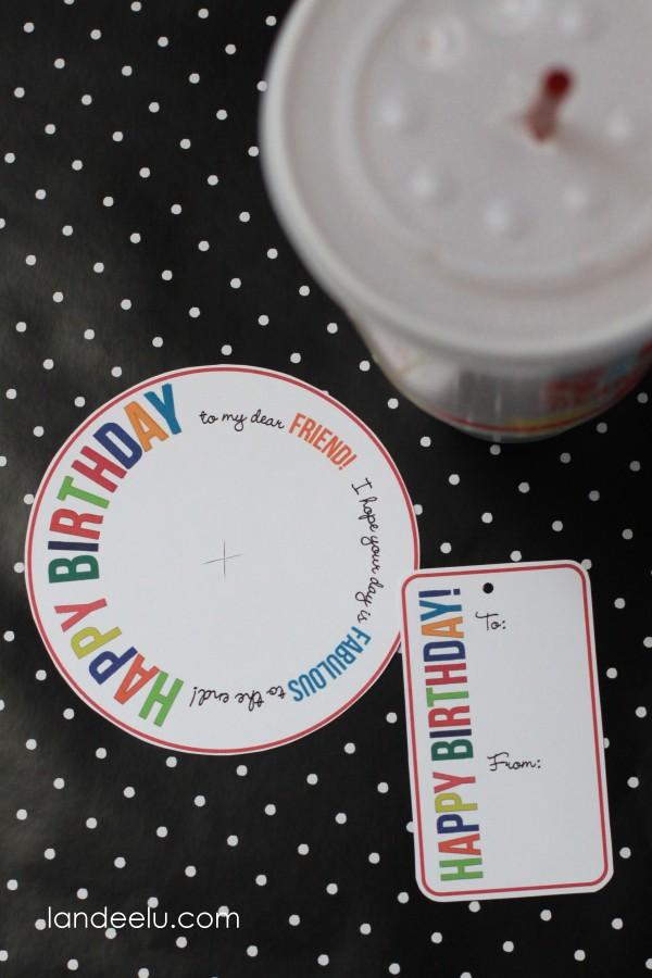 Birthday Gift Idea from Landeelu.com