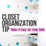 4 Closet Organization Tips For Kids