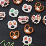 Kids Food Craft Idea: Monster Pretzel Treats   landeelu.com