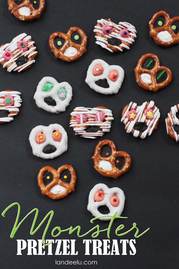 Monster Pretzels: Food Craft for Kids!