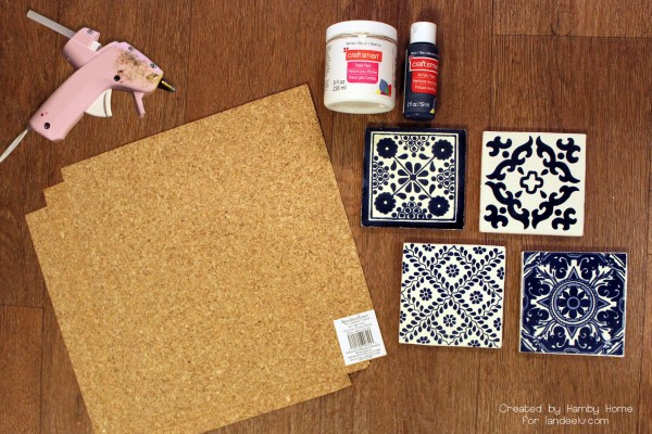 DIY Coaster Supplies