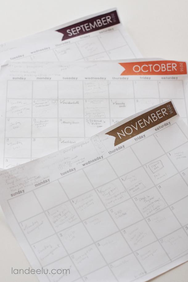 Free Printable Calendar 2015 | landeelu com