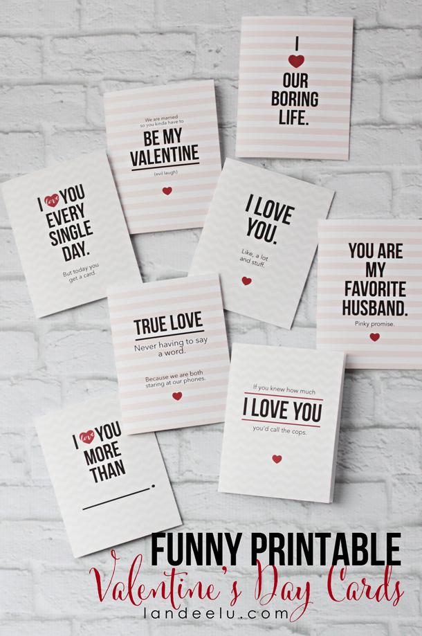 funny printable valentine u0026 39 s day cards