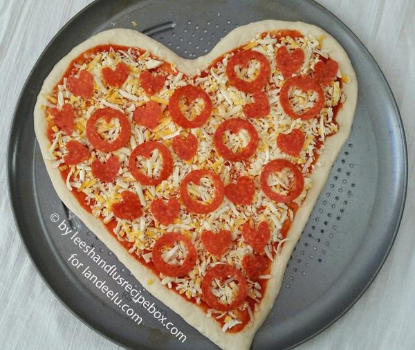 Heart Shaped Pizza (9)