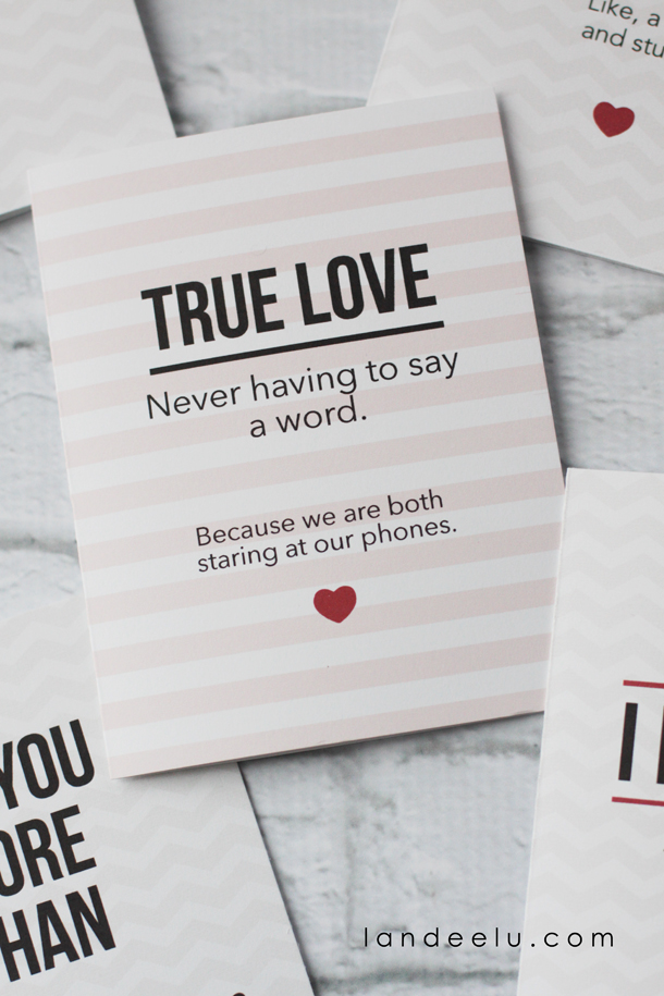 photograph regarding Printable Valentine Cards for Husband identified as Amusing Printable Valentines Working day Playing cards