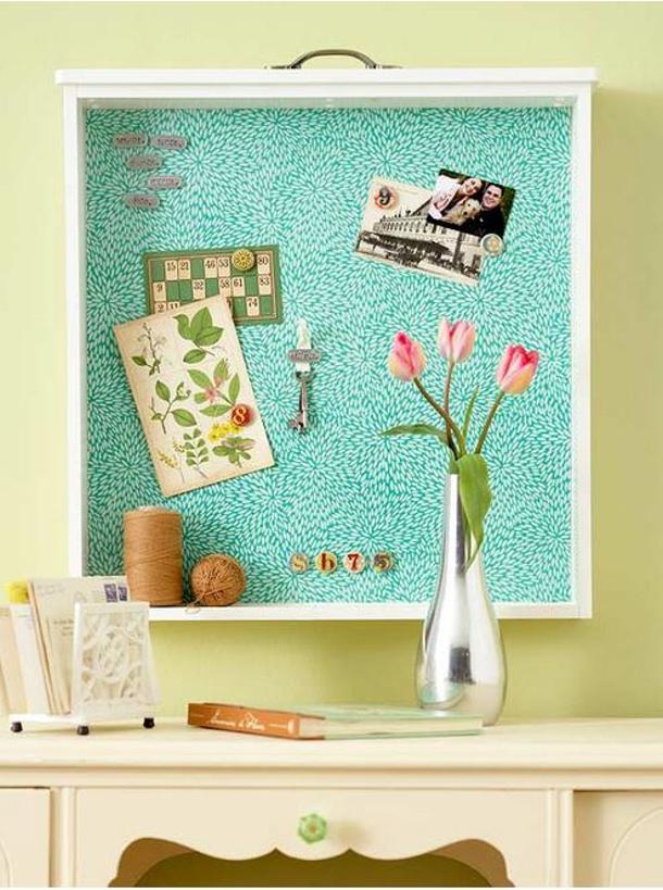BHG drawer bulletin board