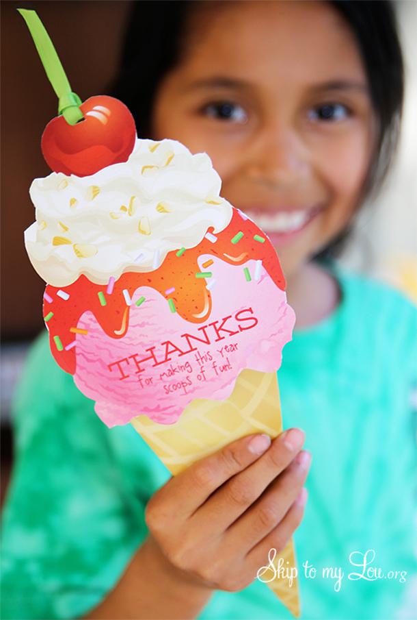 Skip to my Lou ice cream