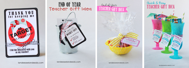 Teacher Appreciation Week Ideas | landeelu.com  Great ideas to make those teachers feel special!