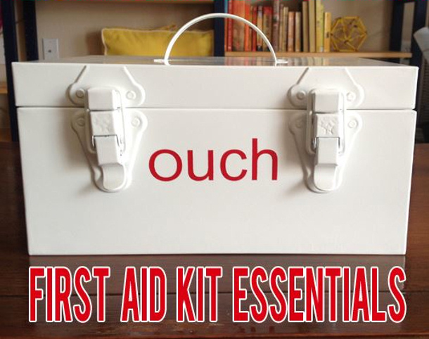 Two Live Colorfully first aid kit essentials