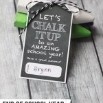 End of School Year Gift Idea: Chalk It Up