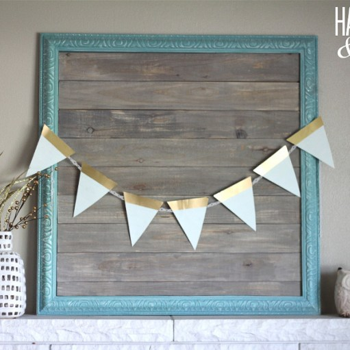 DIY Barn wood square