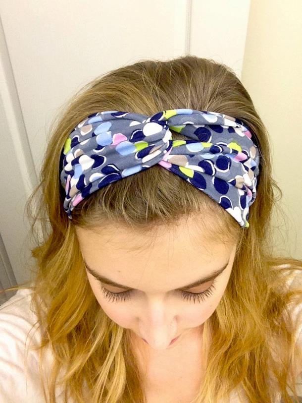 Headbands via kraftie katie wearing it