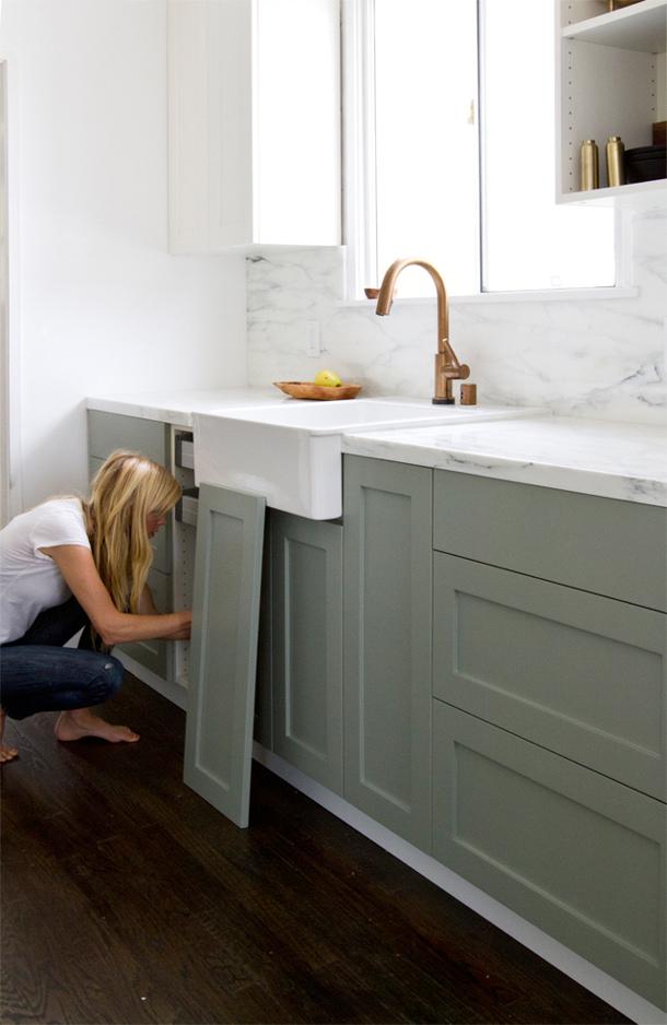 Kitchen Custom Door Hacks via smitten studio online